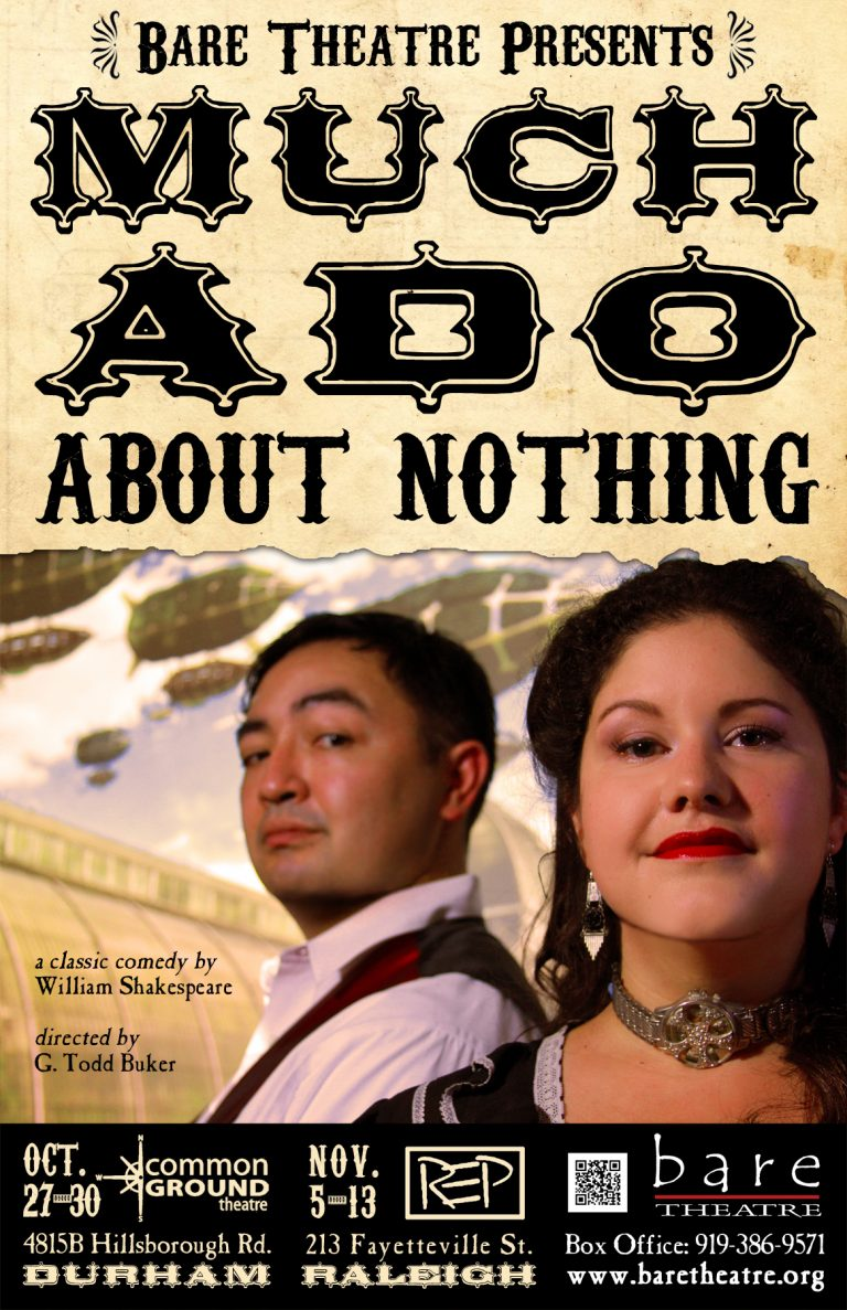 Much Ado About Nothing, Bare Theatre