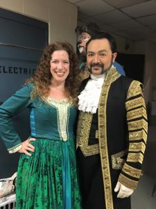 Into the Woods, North Carolina Theatre, Jeff Aguiar, Lisa Jolley and Nate Hackman