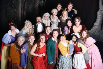 Into the Woods Cast, North Carolina Theatre, 2015