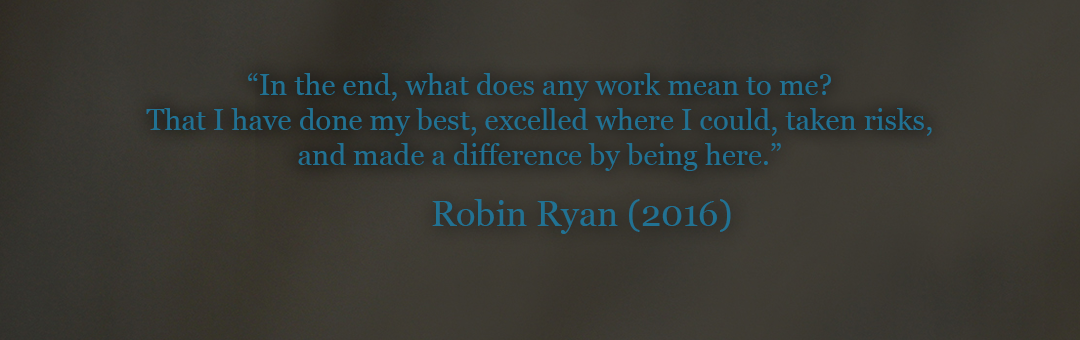 Robin Ryan Quote, 2016